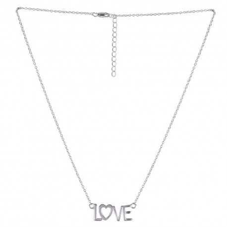 Love Drop 925 Sterling Silner Necklace