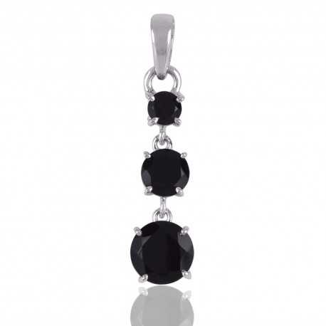 onyx fr shop gemstone kab sterling earrings loading silver zoom