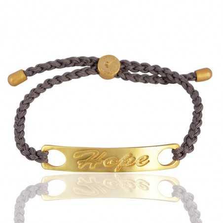 Turquoise Gemstone Gold Plated Brass Bracelet