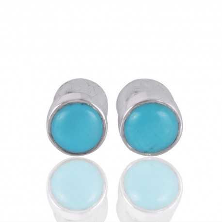Arizona Turquoise 925 Silver Stud Earring