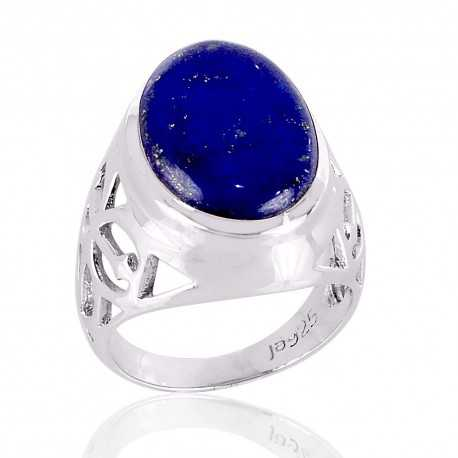 Lapis Lazuli 925 solid silver Ring