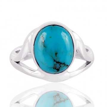 Arizoa kingman Tourquoise 925 Sterliong Silver Ring