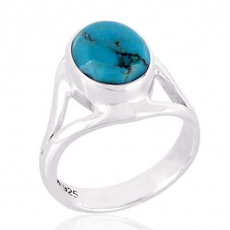 Arizona kingman Tourquoise 925 Sterliong Silver Ring