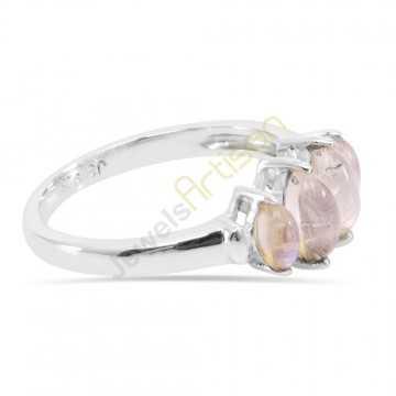 Rainbow Moonstone Rings 925 Sterling Silver Ring