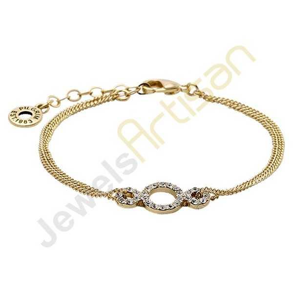 Cubic Zircon Fashion Bracelet Gold Vermeil Bracelet Trendy Bracelets