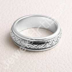 925 Sterling Silver Ring Spinner Ring Handcrafted Silver Ring Meditation Ring Anxiety Ring Designer Ring Thumb Band Ring