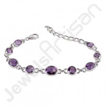 Purple Amethyst Bracelet...