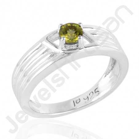 Peridot Ring 925 Sterling Silver Ring Engagement Ring