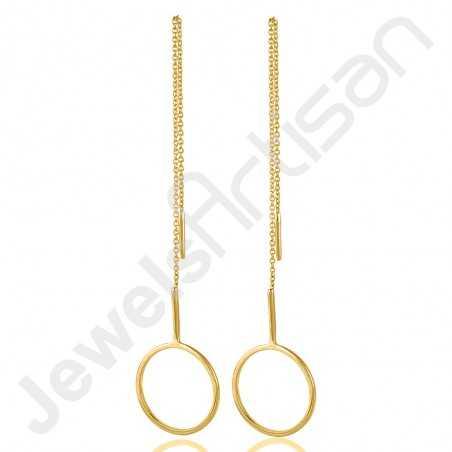 925 Solid Silver Earrings Gold Vermeil Earrings Hammered Textured Earrings