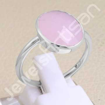 Pink Chalcedony Ring...