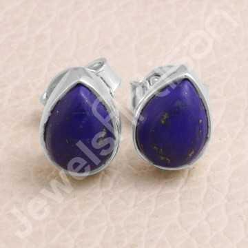Lapis Lazuli Studs Handmade...