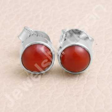 Coral Studs 925 Sterling...