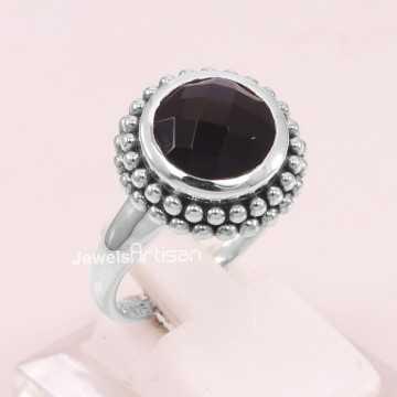 Black Onyx Ring 925...