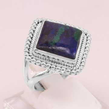 Azurite Malachite Ring 925...