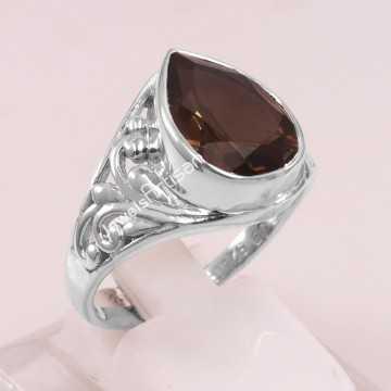 Smoky Quartz Ring 925...