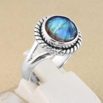 Natural Labradorite Ring...