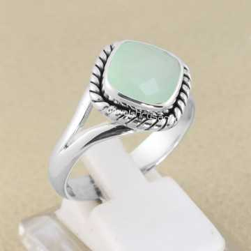 Mint Chalcedony Ring 925...