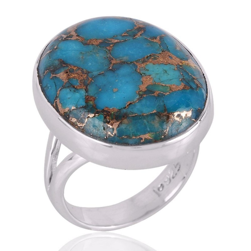stone turquoise tri products ring perfection rings sterling to silver womens