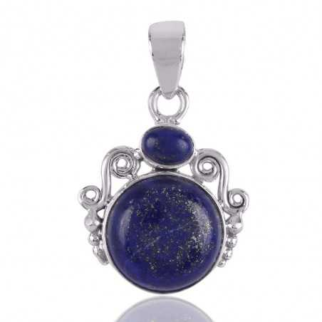 Unique Design Best price Lapis lazuli Sterling Silver pendant