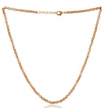 Simple Chain Gold Plated 20 Inch Chain