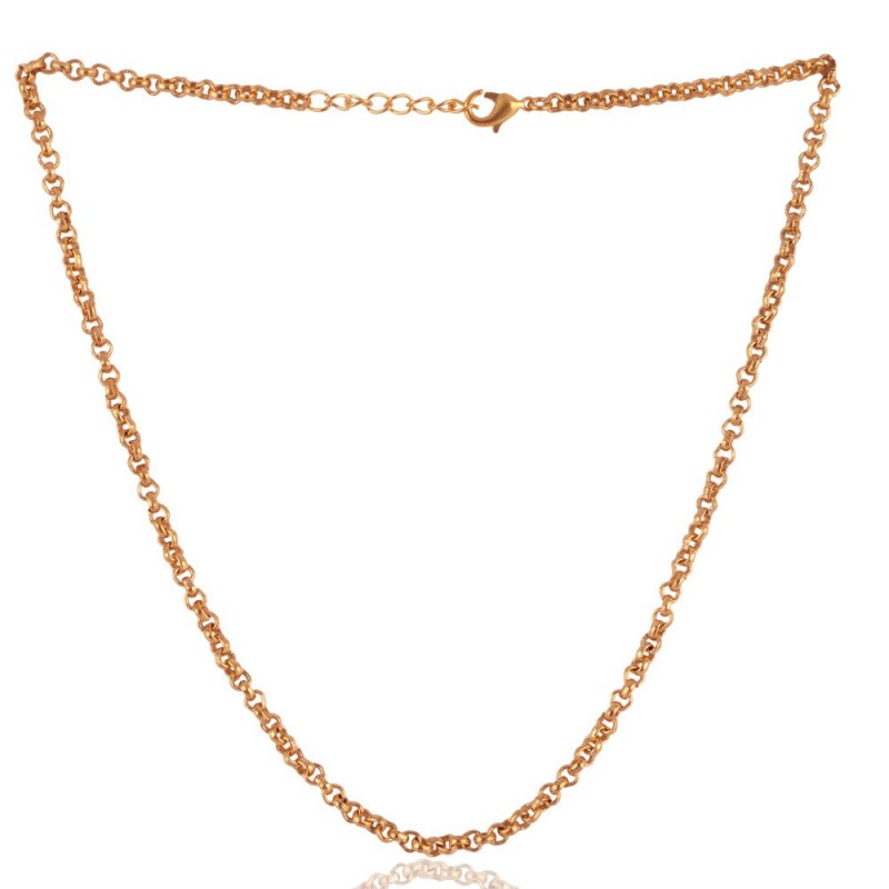 Simple Chain Gold Plated 20 Inch Chain Low Price