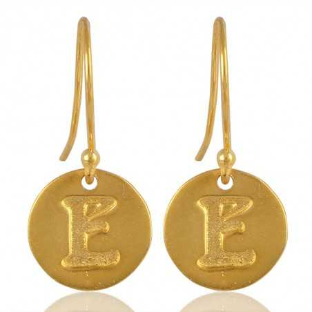 "Alphabate ""E"" Charm Fashion Earrings For Girls and Womens"