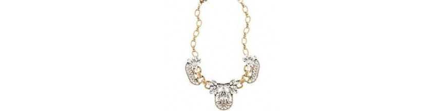 925 Sterling Silver & Gemstone Cluster Necklace by Jewelsartisan