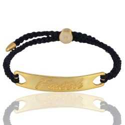 Rainbow Moonstone Gemstone Gold Plated Fashion Brass Bracelet