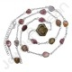 Tourmaline Necklace 925 Sterling Silver Necklaces Handcrafted Silver Necklace Gemstone Necklace Fashionable Necklace