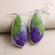 Turquoise Earring 925 Sterling Silver Earring Fancy Shape Turquoise Gemstone Earring Dangle Drop Earrings