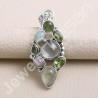Ethiopian Opal Pendant Idocrase Pendant 925 Sterling Silver Pendant Multi Gemstone Handcrafted Silver Pendant
