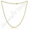 Brass Chain Handmade Chain Interlocked Chain 20inch Adjustable Brass Metal Chain for Pendant