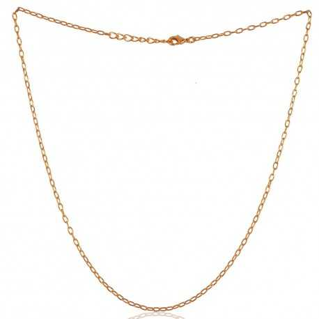 18K Gold Plated Chain Size 16 Inch