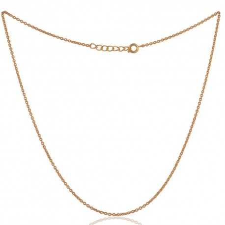 Top Quality Gold Plated Fashion Chain to Wear Everyday 16 inch Long Chain