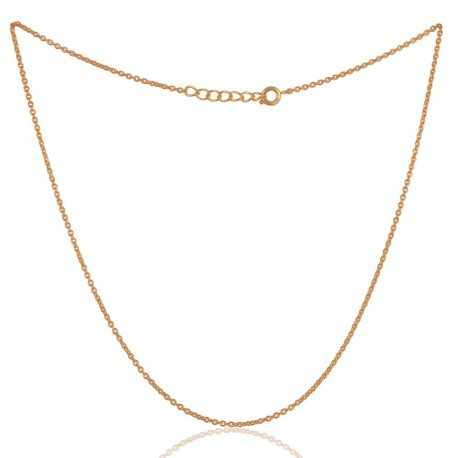 Top Quality Gold Plated Fashion Chain to Wear Everyday 18 inch Long Chain